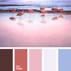 The play of overflows of pink colour from hardly sensible pale hue to a thick maroon-brown tone of hidden passion creates an atmosphere of romance. Touchin.