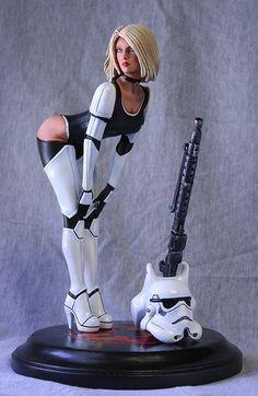 Stormgirl Model Kit
