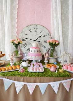 Alice in Wonderland themed birthday party with Such Cute Ideas via Kara's Party Ideas