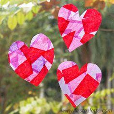 Tissue Paper Suncatchers Craft   Kids' Crafts   FirstPalette.com