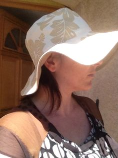 Tuto chapeau (bob / capeline) r�versible