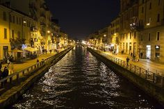 #Italy is crossed by many charming #rivers which offer a natural scenic beauty. The longest ones are located in the northern Italy, because the #Apennines split the country in two parts. Navigli Milano