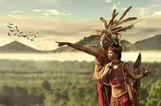 dayak-Indonesia
