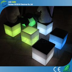 Led Cube Chair With Cushion Www.goldlik.com