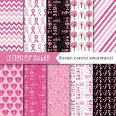 Breast Cancer Awareness-Digital Paper (LES.DP59)