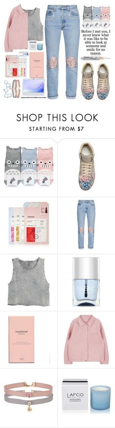 """""""LIGHTER LOOKS FOR SPRING"""" by emcf3548 ❤ liked on Polyvore featuring Maison Margiela, Mamonde, Bliss and Mischief, H&M, Nails Inc., Sony, Ivana Helsinki, Miss Selfridge, LAFCO and Chantecaille"""