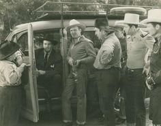 Joe Strauch Jr, ?, Gene Autry, Smiley Burnett, Tim, Karl and Pat