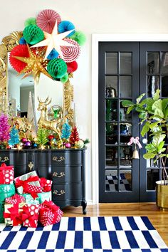 2016 CHRISTMAS HOME TOUR PART 3- FRONT PORCH AND ENTRY