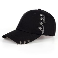 Buy 2018 Adult Bts Casual Solid Adjustable Iron Ring Baseball Caps Snapback Cap Casquette Hats Fitted Casual Hats at Wish - Shopping Made Fun Edgy Outfits, Teen Fashion Outfits, Cute Casual Outfits, Kleidung Design, Jugend Mode Outfits, Mode Kpop, Accesorios Casual, Cute Hats, Hair Accessories For Women