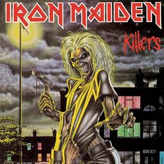 Iron Maiden - Killers - Derek Riggs - 02.01.1981