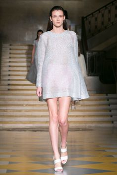 A look from the Emilia Wickstead Spring 2015 RTW collection.