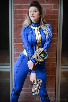 Vault Dweller from Fallout 4 Cosplay Byndo Gehk Cosplay Outfits, Cosplay Girls, Cosplay Costumes, Game Costumes, Amazing Cosplay, Best Cosplay, Female Cosplay, Cool Cosplay, Cosplay Fallout