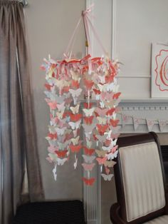 This Home of Ours: Baby Shower Pink and Coral