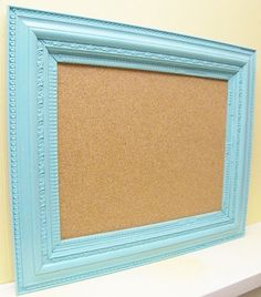Find a funky old frame at the flee market and make this