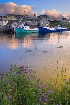 Peggy's Cove harbour, Nova Scotia, Canada (By Darwin Wiggett)