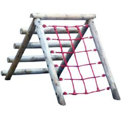 Garden Nursery Climber: Climbing net/ladder for children over the age of 4. Children can improve their gross motor skills and basic strength with this piece of equipment whilst also having fun. The netting has a soft, smooth touch so that children do not injure themselves whilst playing.