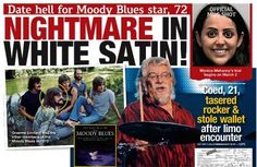 "MOODY BLUES band member Graeme Edge was hoping for a ""Night in White Satin"" when he wined and dined a college coed, but the dream date turned into a ..."