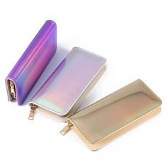 4d9dd18f0e0 New 2018 Holographic Wallet Purse – Aeora  womensmoneypurse Cuero