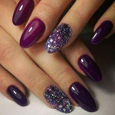 Purple Nail Art Designs Collection purple nail arts nail art in 2019 purple nail art cute Purple Nail Art Designs. Here is Purple Nail Art Designs Collection for you. Purple Nail Art Designs purple nail arts nail art in 2019 purple nail art. Fall Acrylic Nails, Acrylic Nail Art, Gorgeous Nails, Pretty Nails, Simple Fall Nails, Cute Nail Colors, Hair Colors, Purple Nail Art, Purple Glitter