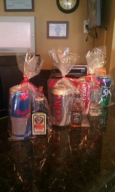 Really cute idea- perfect gifts for roommates :)
