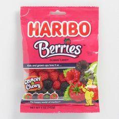 Haribo Raspberry Gummies, Set of 12