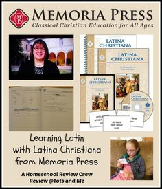 Tots and Me... Growing Up Together: Learning Latin with Latina Christiana from Memoria Press {A TOS Review}