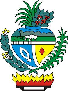 Estado de Goiás (GO), Brasil, Capital: Goiânia, Ext 340086,7 Km² #Goiás #Goiânia #Brazil (L2037)