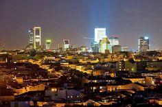 Madrid de Noche, sera por luces !! Foto: Fco. Javier Bravo Tarifa Google+