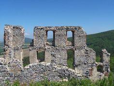 Oponický hrad - zrúcanina