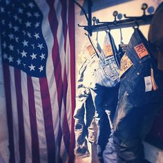 Ralph's official #rrl window Stage 2: Stars & Stripes #ralphlauren #tenuedenimes