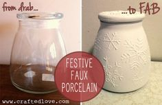 Festive or all-occasion jars depending on the season.