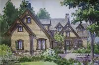 Timber Bridge Cottage House Plan # 07465, Front Elevation, Mountain Cottage Style House Plans, Craftsman Style House Plans