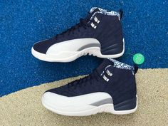 huge selection of 2a1df 9ae12 Air Jordan 12 Retro International Flight College Navy For Sale