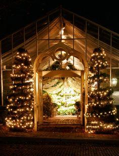 The Conservatory :: Wedding Venue, St. Charles, MO - 'Tis the season at The Conservatory.  #wedding #garden http://gardenwedding.com