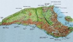Map - Constantinople, Geography