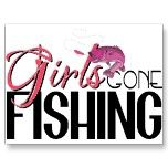 Girls Gone Fishing Postcard