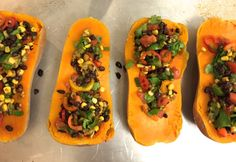 Stuffed butternut squash.. This meal is all about flavor, superior nutrition, and simplicity....