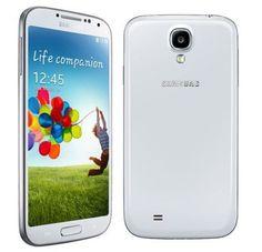 New Samsung Galaxy S4 GT-I9500 - 16GB -13MP -White Frost Unlocked Smartphone