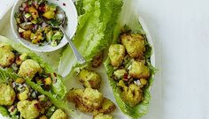 Amelia Freer: chicken nuggets with mango and avocado salsa | The author of Eat. Nourish. Glow shares her healthy version of the popular chicken dish for the whole family to enjoy.