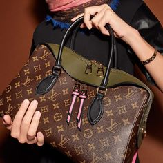 Bold colors, refined styling, elegant modernity. The Tuileries handbag, from the new #LouisVuitton Monogram collection.
