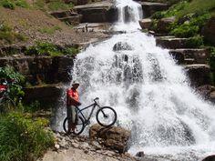 Namarestagh 91.4.15 046 Mountain Bike Tour, Mountain Biking, Niagara Falls, Iran, Cycling, Waterfall, This Is Us, Tours, In This Moment