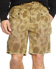 Polo Ralph Lauren Relaxed-Fit Camouflage-Print Cargo Shorts