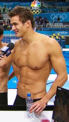 swimmers body male