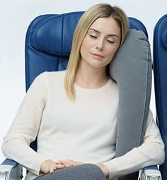 Travelrest  Ultimate Travel Pillow  Neck Pillow  Ergonomic Patented  Adjustable for Airplanes Cars Buses Trains Office Napping Camping Wheelchairs Rolls Up Small ** You can find out more details at the link of the image.