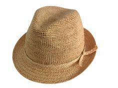 -Sombrero-de-ala-del-ganchillo ...