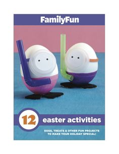 Find fresh Easter egg decorating ideas, cute decorations, DIY bunny ears for your little ones, and more, in FamilyFun's free booklet.