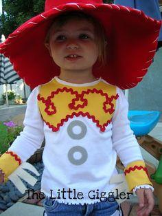 The Little Giggler  Cowgirl Jessie Halloween Costume Jessie Halloween  Costume 5a4638f36d4