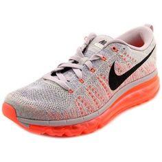 64e9190afa46cc Nike Flyknit Max Women US 8.5 Gray Running Shoe. Trail Running ShoesRunning  ...