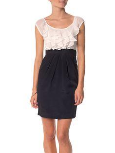 6c98b51d5807f Blanco y Negro. La combinación que nunca pasa de moda. Vestidos De Mujer