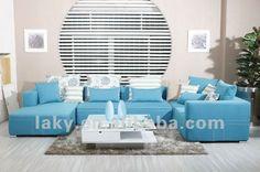 sala com sofa azul - Pesquisa Google